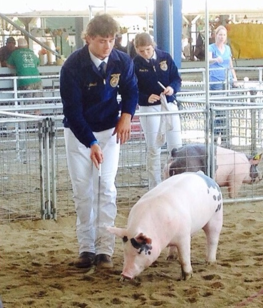 Tanner Russell courtesy of YHS FFA