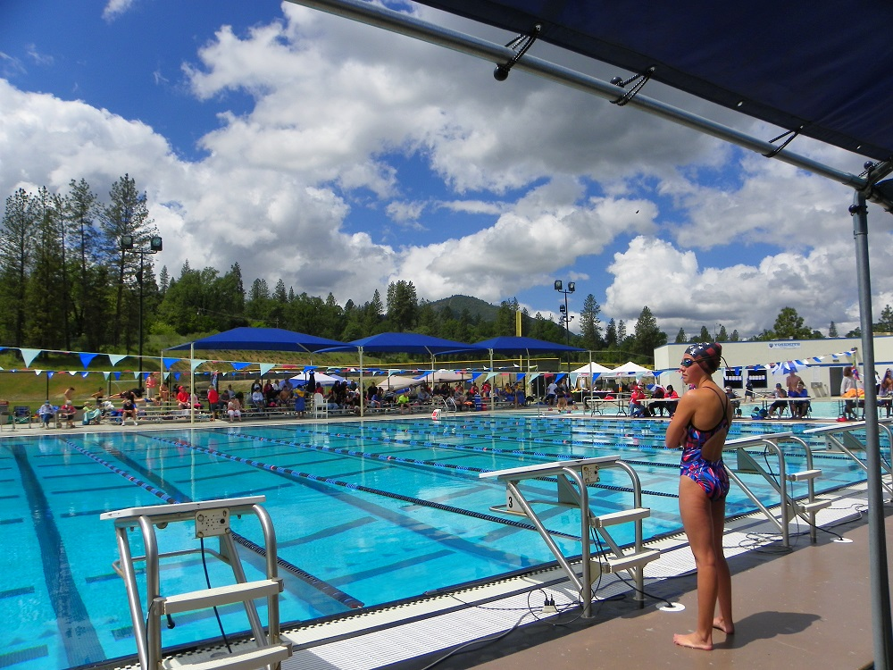 North Sequioa League - wide shot of pool - May 9 2014 - photo by Kellie Flanagan