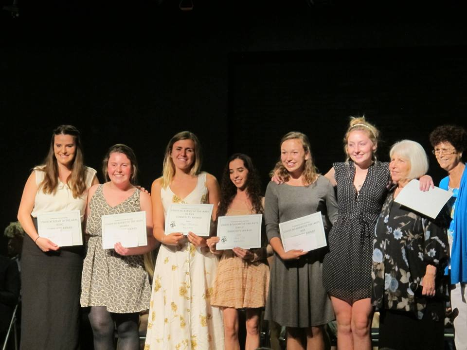 Community Awards winners for Vision Academy of the Arts - YHS Class of 2015 - photo courtesy of Kriszti Mendonca