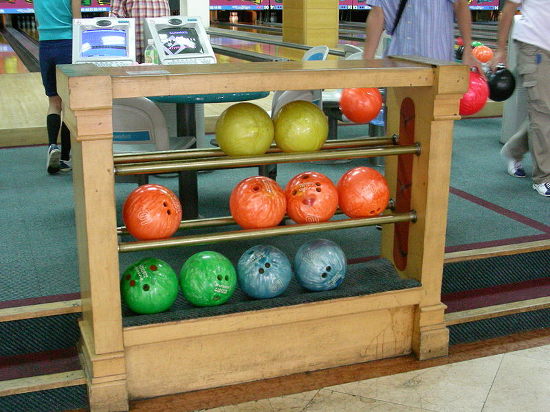 Bowling Balls - Wiki Commons - Public Domain 2013 posted
