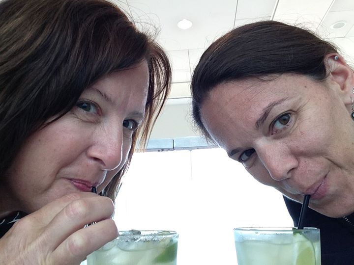 Margaritas at the airport - courtesy of Kelly Silva Fine