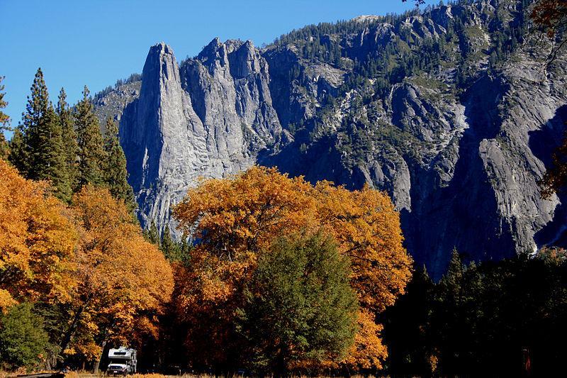 Fall In Yosemite - photo by Brocken Inaglory