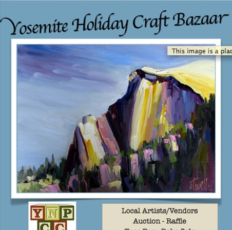 Yosemite Holiday Craft Bazaar 2014 brochure - photo by Candace Gregory