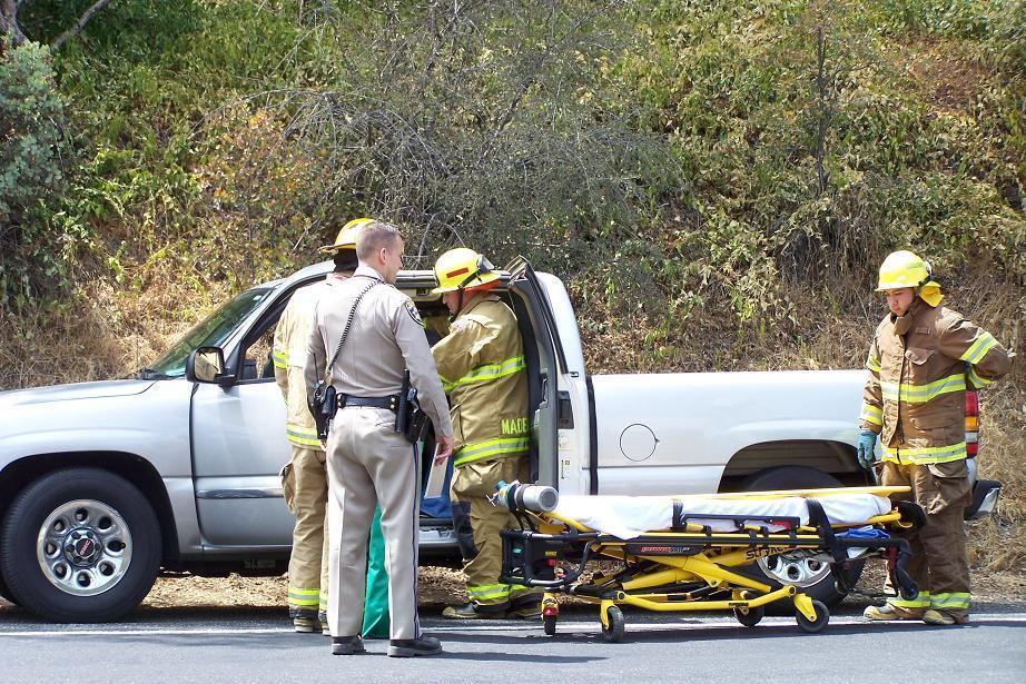 Deadwood crash 8-18-12 paramedics