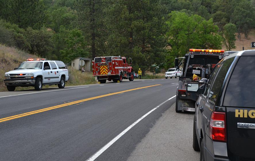 Cal Fire responds to Serpa Canyon