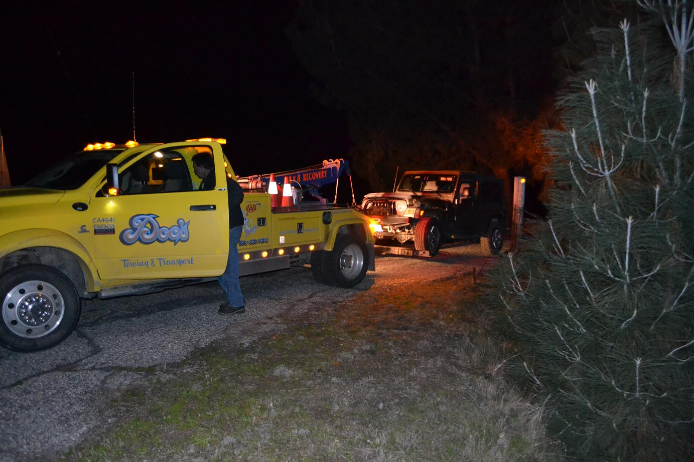 Docs Towing with the Jeep