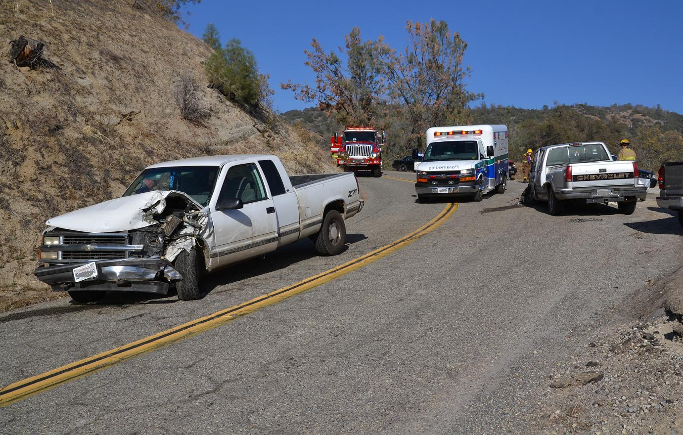 Two Vehicle crash on Road 222 1-25-14
