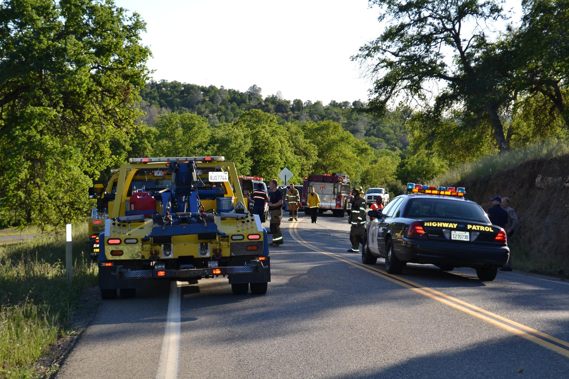 First Responders At Road 415 Accident