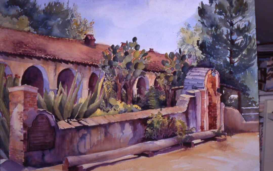 Painting by Phyllis Overstreet