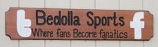 Bedolla Sports sign