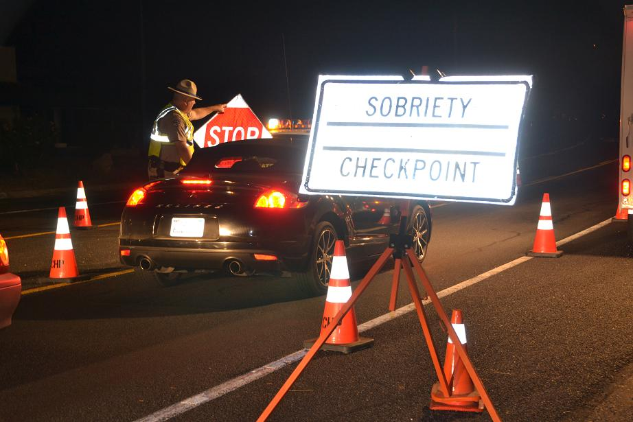 Sobriety Checkpoint Coarsegold