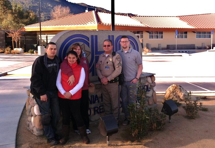 Sgt Ed Greene and Family Dec 2013