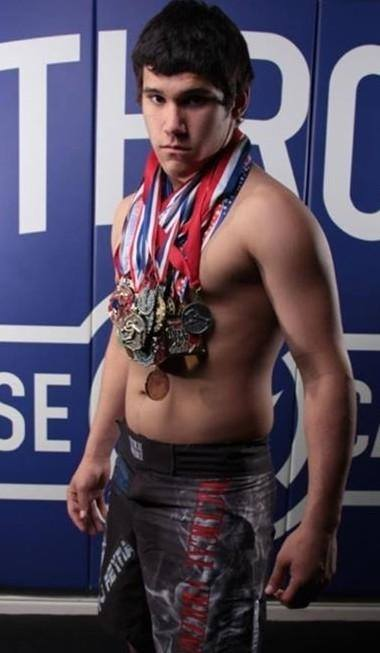 MMA fighter PJ Reyna is helping to support Cans for Carma and will be onsite for a meet and greet at Relay for Life - photo courtesy of Jackie Cornell