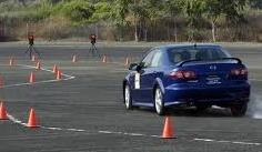 Drivers Training on a course