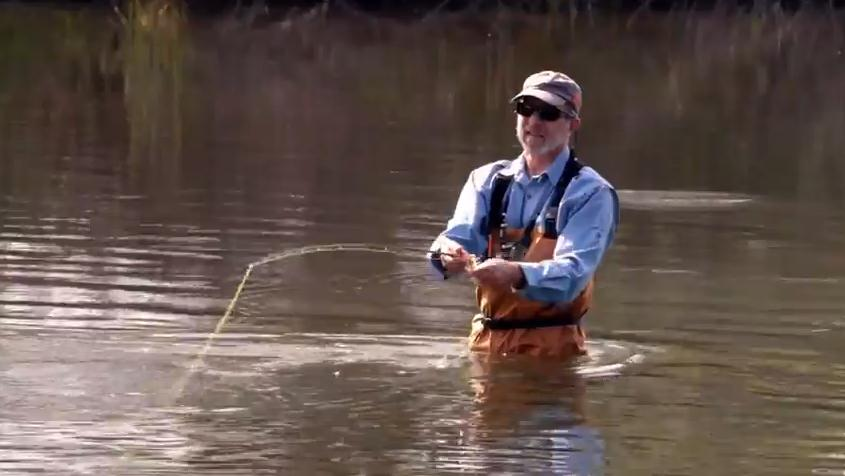 Im for the River fisherman