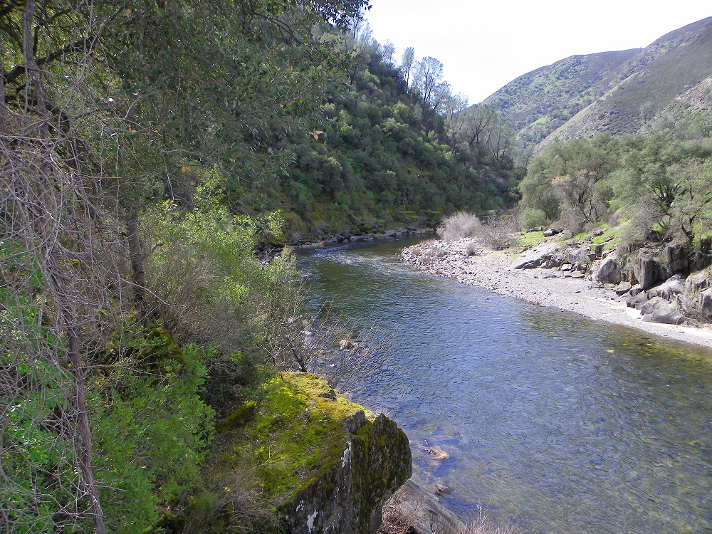 Merced River at Briceburg recreation area - 2014 - photo by Kellie Flanagan