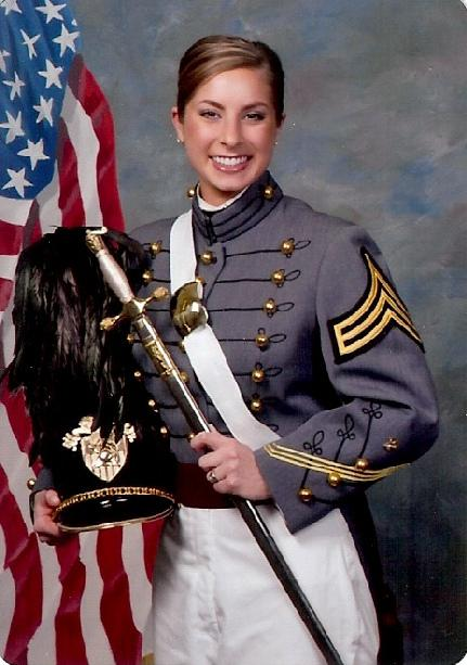 Suzie Burks Senior at West Point