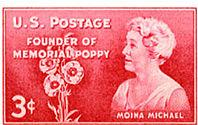 Moina Michael Postage Stamp