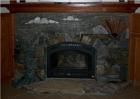 Hansels fireplace surround