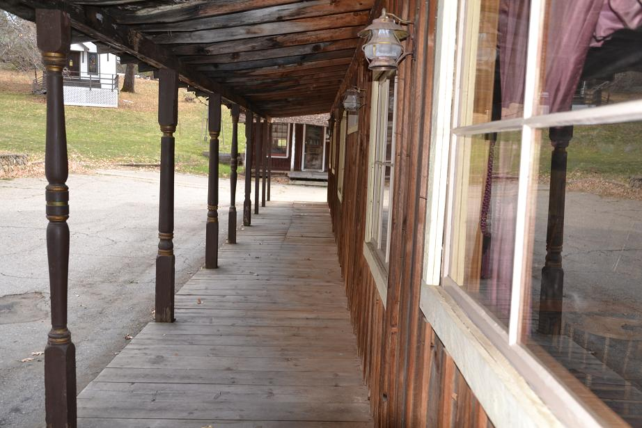 Saloon and Restaurant porch - photo by Gina Clugston