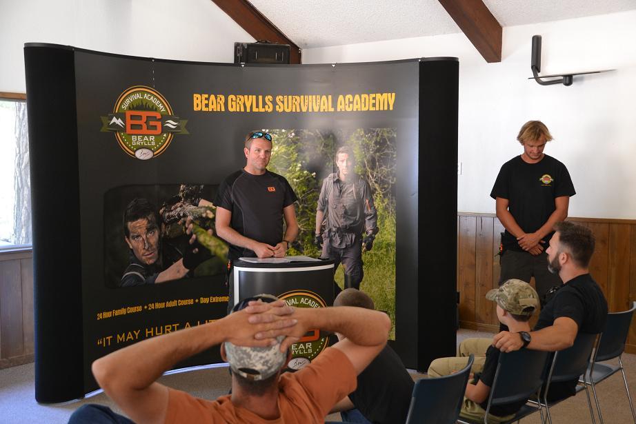 Bear Grylls Survival Academy at Calvin Crest