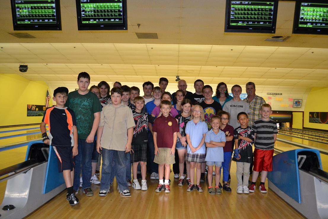 Kids Wednesday Bowling Leagues 5-1-13
