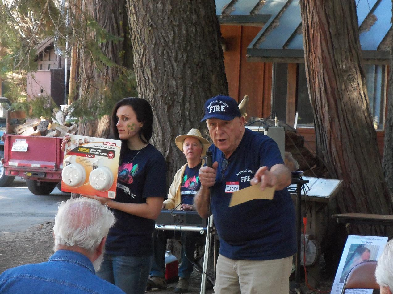 Donn Harter at  Fish Camp Auction