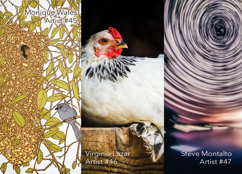 Monique Wales, Virginia Lazar and Steve Montalto are numbers 45-46-47 at Sierra Art Trails 2014