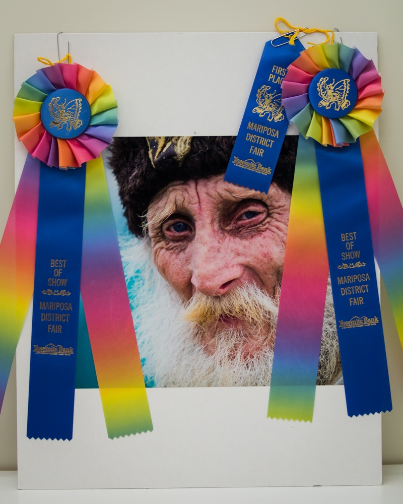 The Fisherman by Virginia Lazar 2014 - 1st Place and Best in Show Mariposa Fair