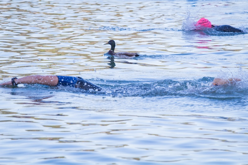 Bass Lake Tri is highly inclusive - photo by Virginia Lazar