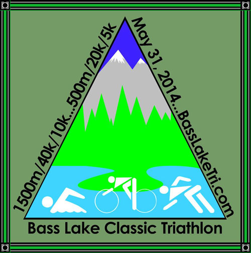 Bass Lake Triathlon 2014