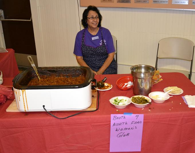 Chili Cookoff  Winner - NF Womens Club 10-20-12