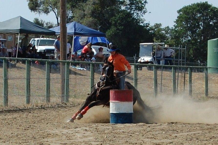 Barrel Racing - photo courtesy of Tammi Kudra Edmonds