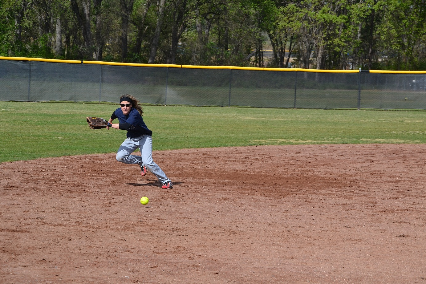 Kasey Lutz plays a mean shortstop