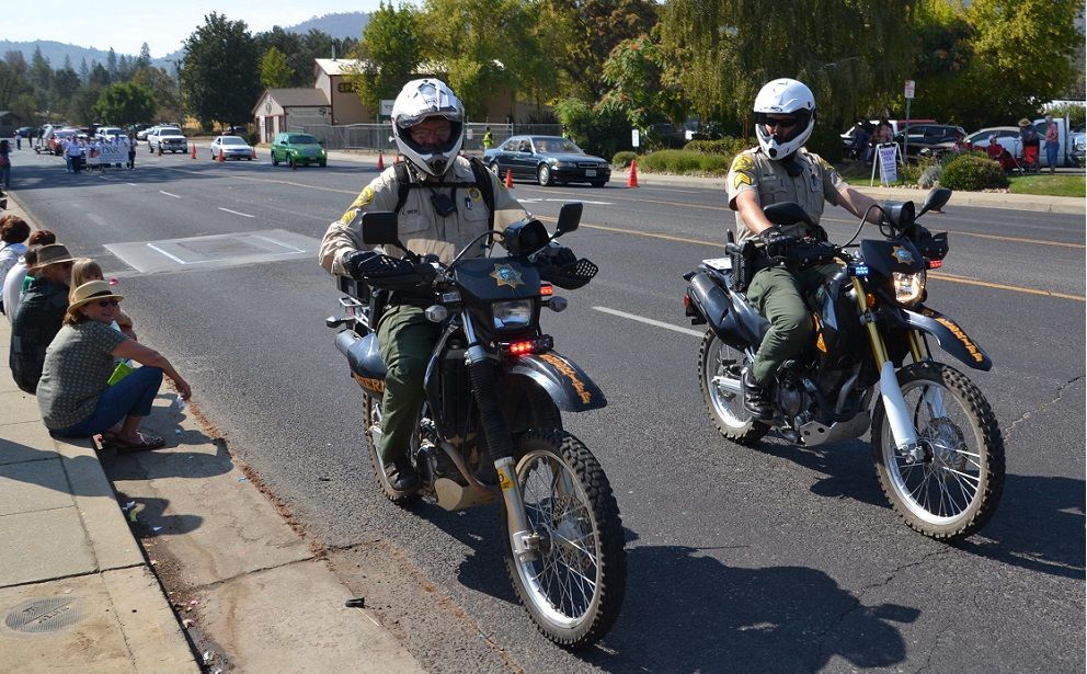 Madera County Sheriffs Office motorcycles