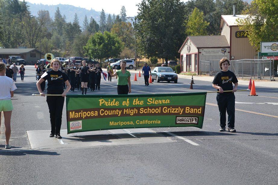 Mariposa Co. High School Grizzly Band