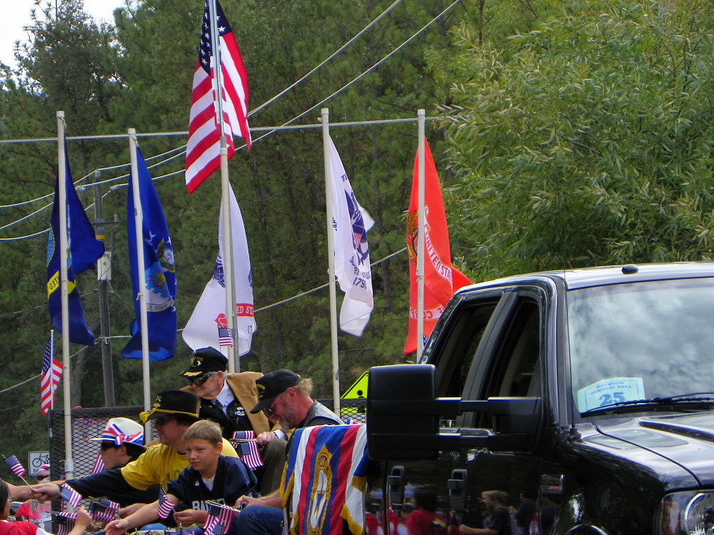 Mountain Heritage Days Parade 2013 - Caring Vets of America - Photo by Kellie Flanagan