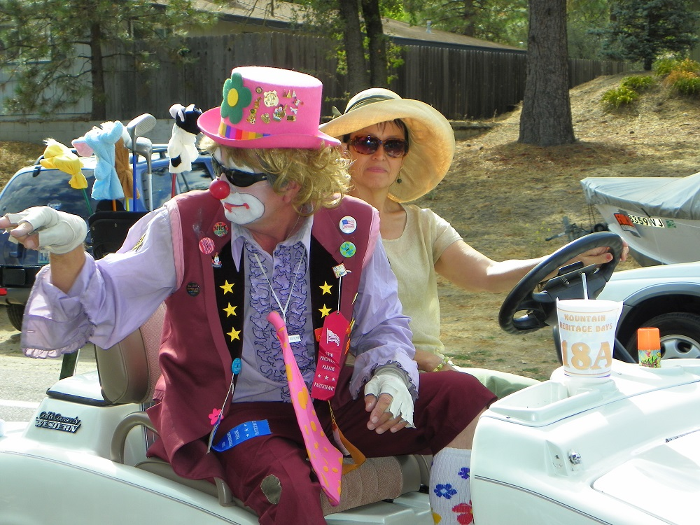 Mountain Heritage Days Parade 2013 - Clown Car - Photo by Kellie Flanagan