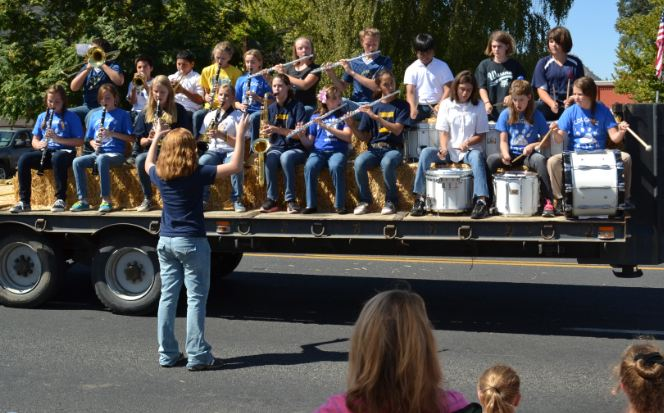 Mountain Area Middle School Bands