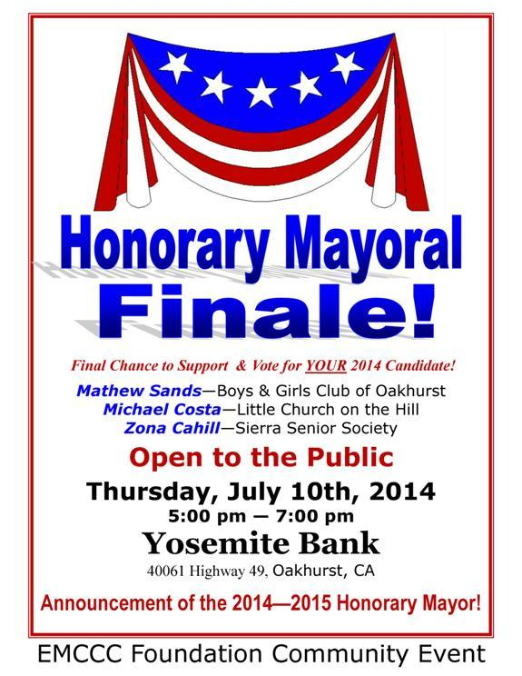 Honorary Mayor Finale flier 2014