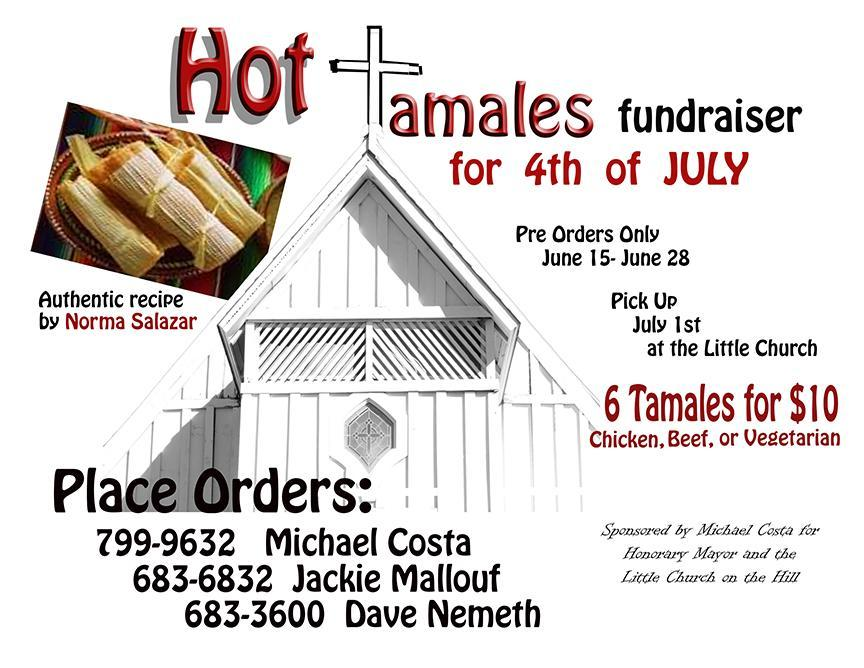 Hot Tamales at Little Church flier 2014