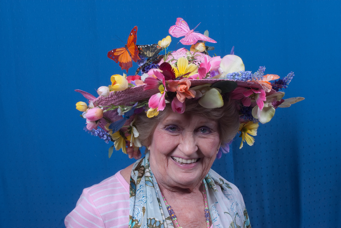 Mariposa Butterfly Festival - Butterfly Hat Competition - Photo courtesy of Charles Phillips Stone Creek Gallery Mariposa