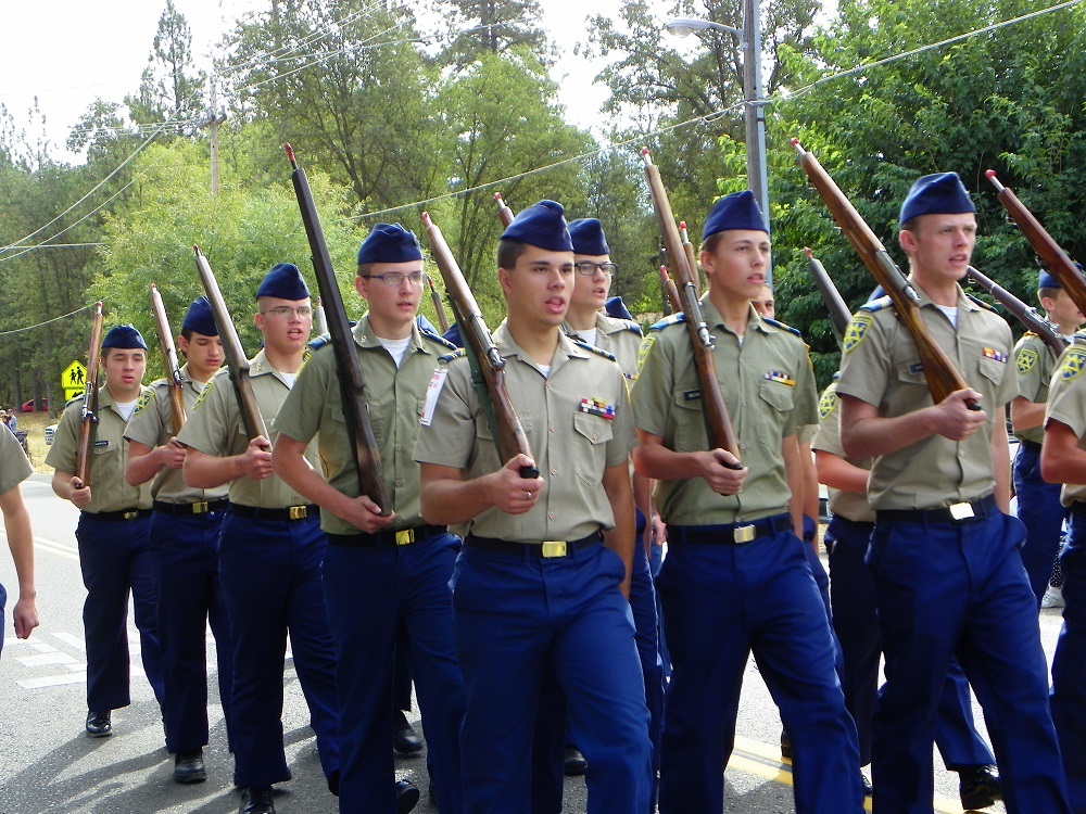 Mountain Heritage Days Parade 2013 - YHS Cadet Corps - Photo by Kellie Flanagan