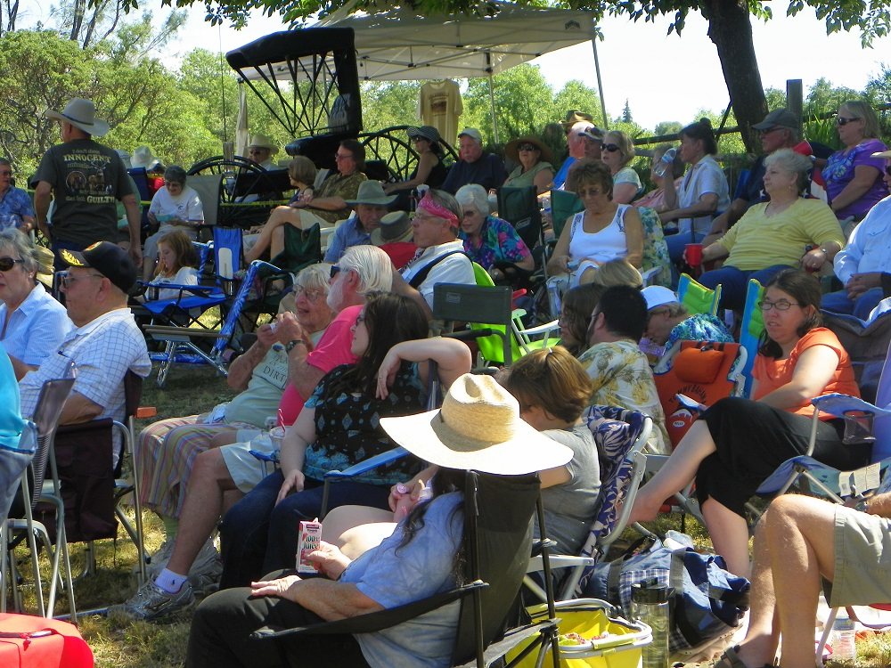 Music in the Meadow - 2013 - the crowd relaxes - Photo by Kellie Flanagan