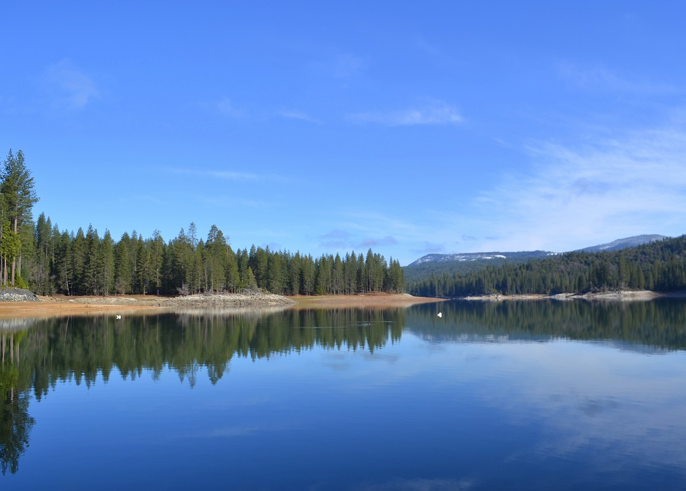 Bass Lake Glass - Photo Courtesy of Millers Landing Resort at Bass Lake
