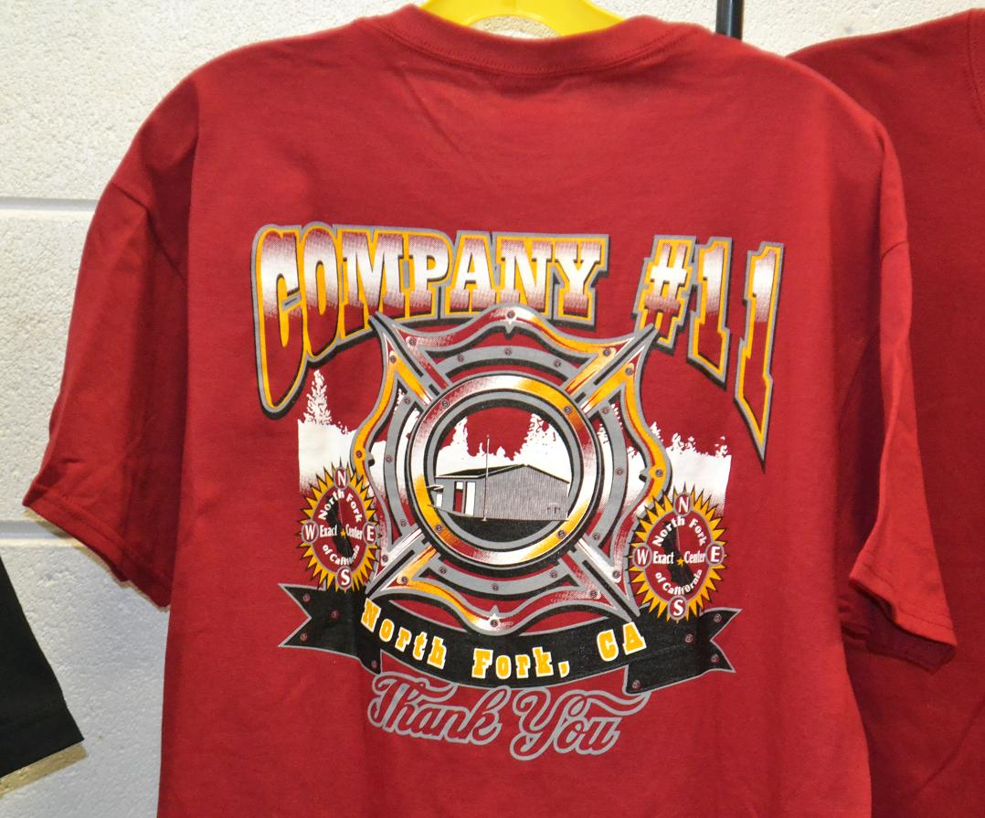 T-shirts red - new fire station