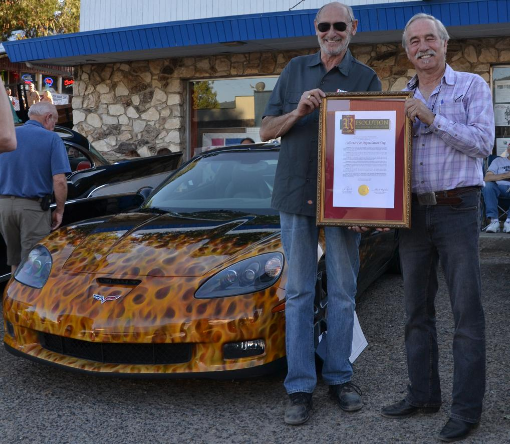 Dave Wolin and Tom Wheeler with Resolution from Tom Berryhill and Frank Bigelow