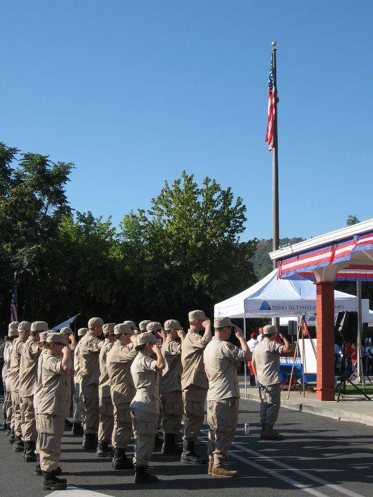 Patriot Day Cadet corp Salute