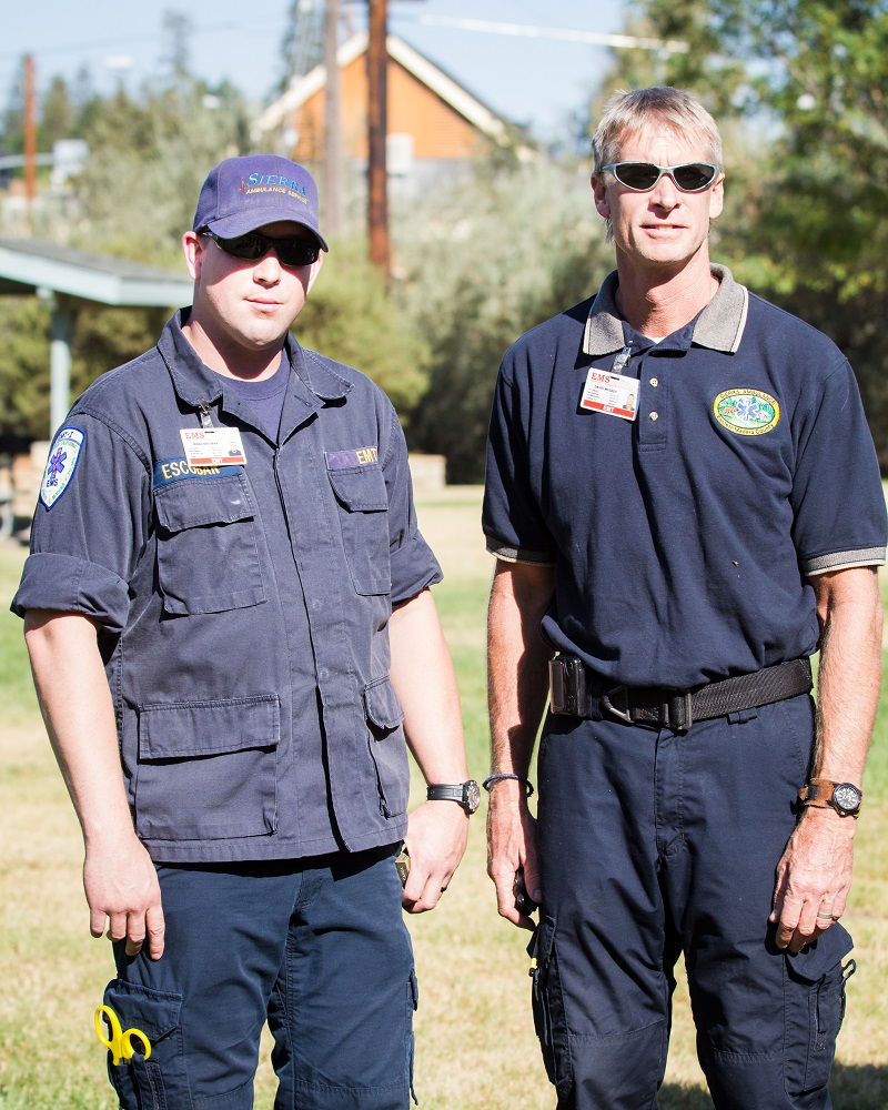 EMS from Sierra Ambulance at Patriot Day 2014 - photos by Virginia Lazar