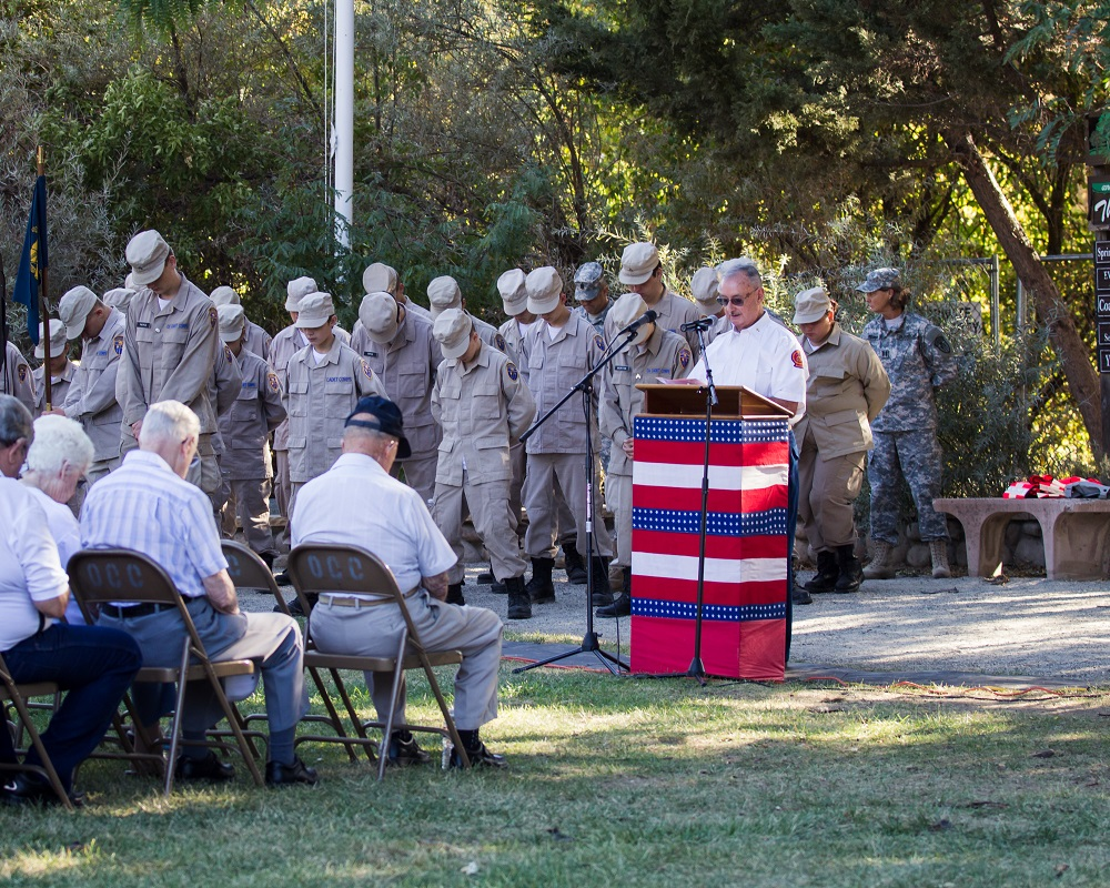 Invocation on Patriot Day 2014 - photo by Virginia Lazar